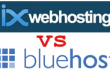 ixwebhosting vs bluehost