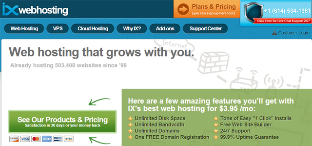 ixwebhosting wordpress