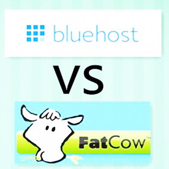 bluehost vs fatcow