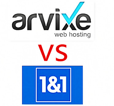 arvixe vs 1 and 1