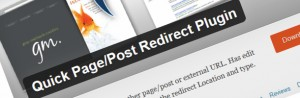 Quick-PagePost-Redirect-Plugin