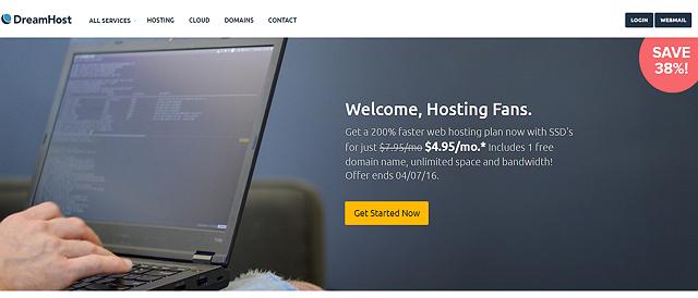 dreamhost hosting 495