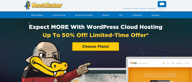 hostgator managed wordpress
