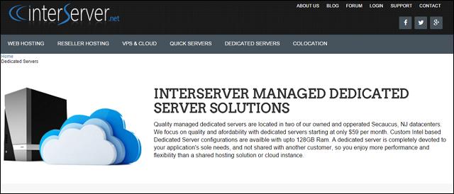 interserver dedicated server