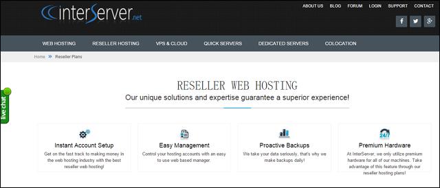 interserver reseller hosting