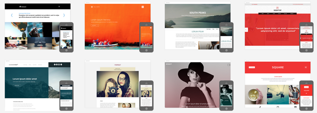 midphase website builder templates