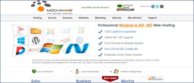 MochaHost ASP NET Hosting Review