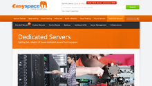 easyspace dedicated server FI