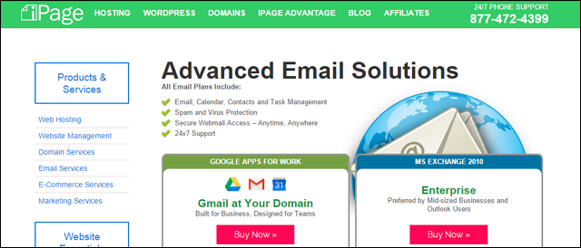 ipage-email-hosting