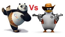 difference between Panda and Penguin