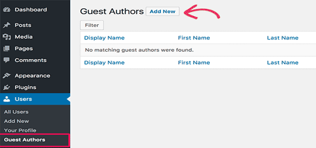 WordPress guest author plugin