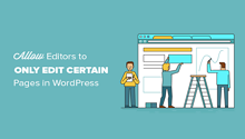 wordpress user specific pages