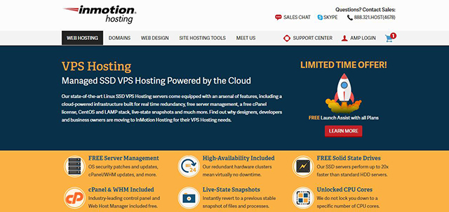 InMotion Hosting Managed VPS Hosting Review