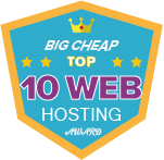 Top 10 web hosting