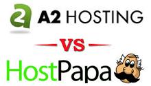 A2HOSTING VS hostpapa