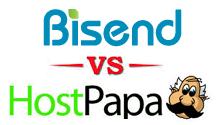 bisend vs hostpapa